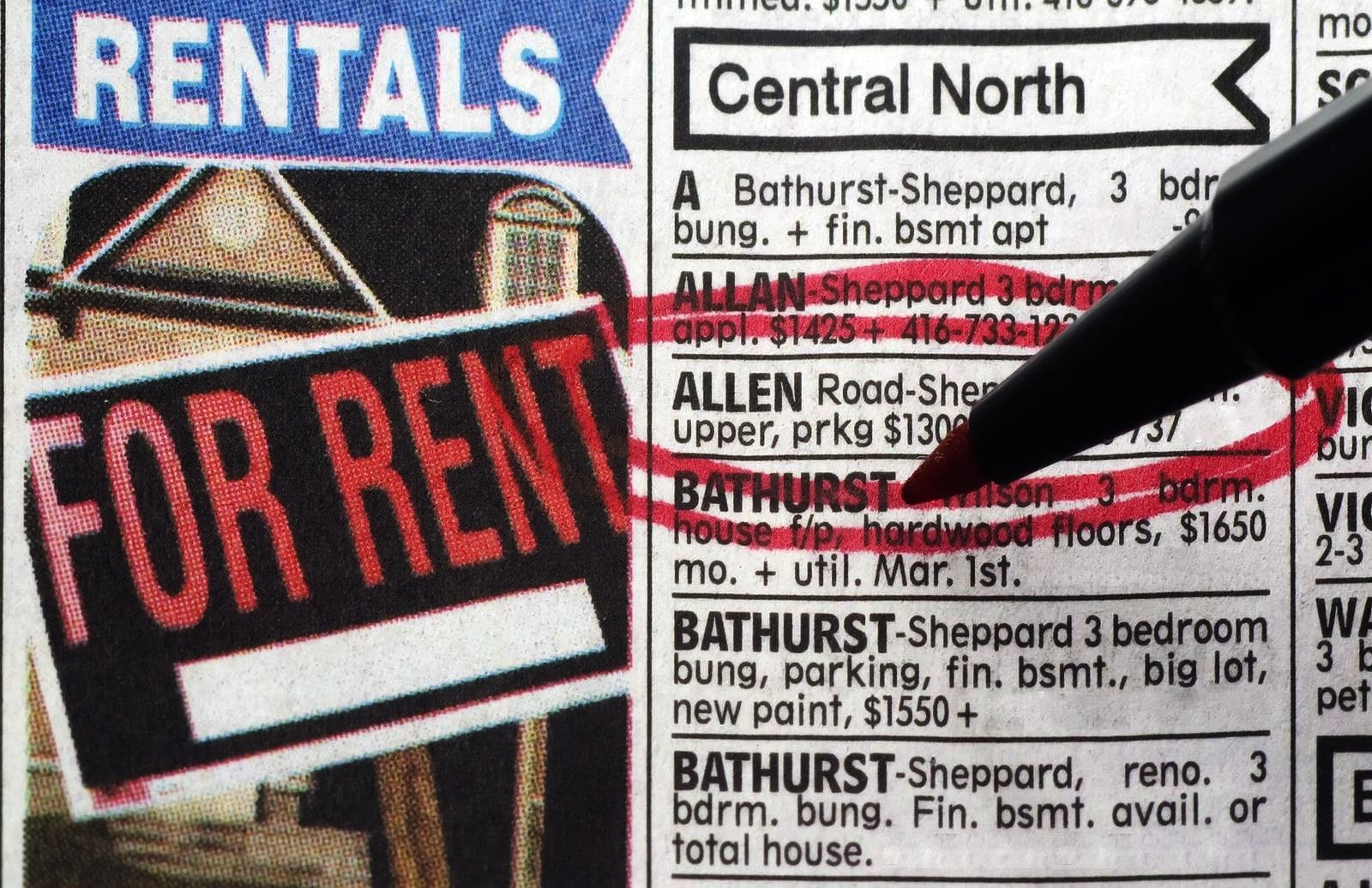 Resultado de imagen para rent newspaper house