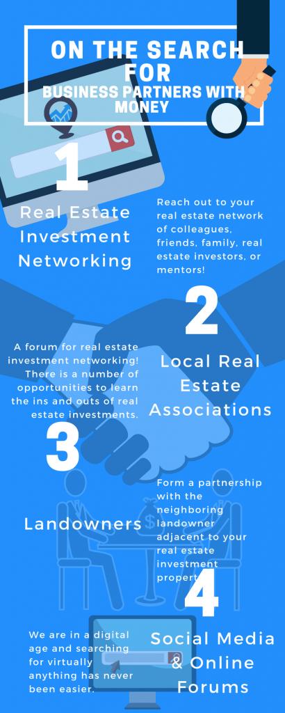 Find real estate partnerships