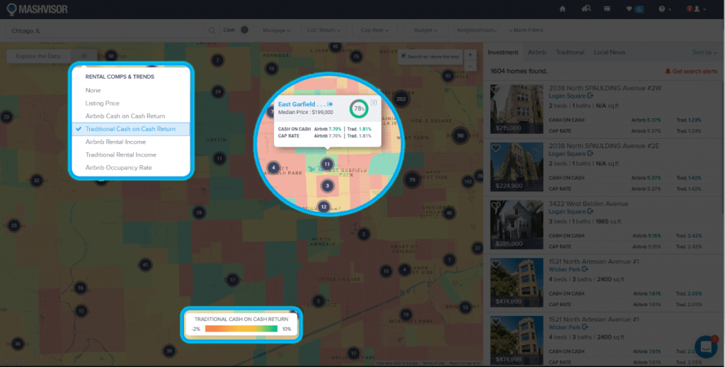 Using a Heat Map Tool to Analyze a Real Estate Market - 3
