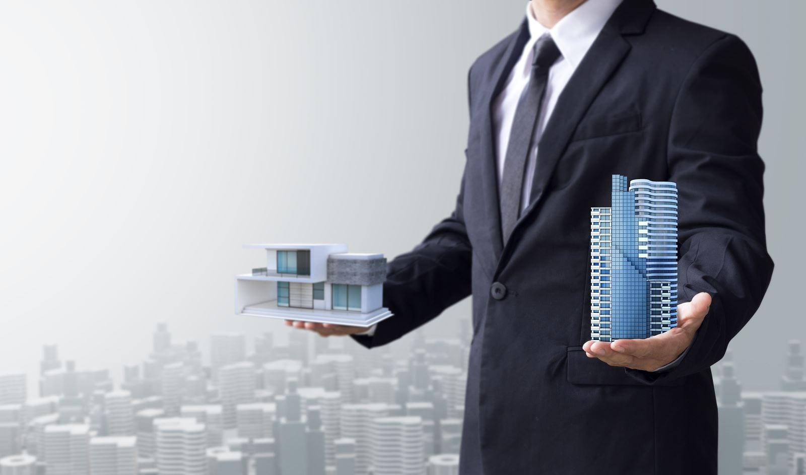 investing in commercial real estate vs residential lease