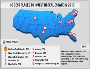 10 Best Places to Invest in Real Estate in 2019 | Mashvisor