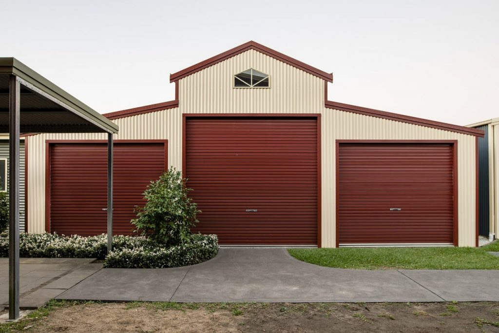Focus on the garage during a green remodel of your investment property.