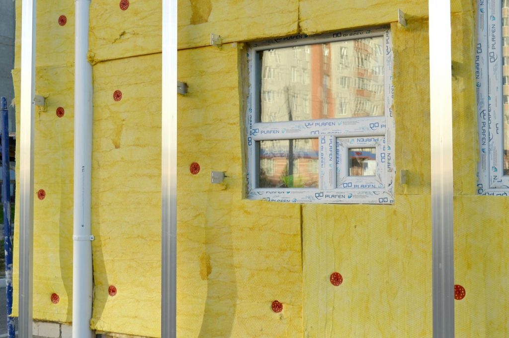 Don't forget to insulate for maximum results on your green remodel of your investment property.