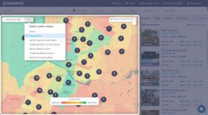 choosing the best rental property strategy: use a heatmap tool