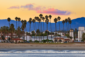 best cities for rental income Santa Barbara, CA