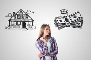 how much money do I need to buy a house for investment in terms of cash