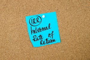 Learn about the internal rate of return formula