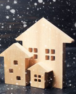 Winter is one cause for a low-inventory real estate market