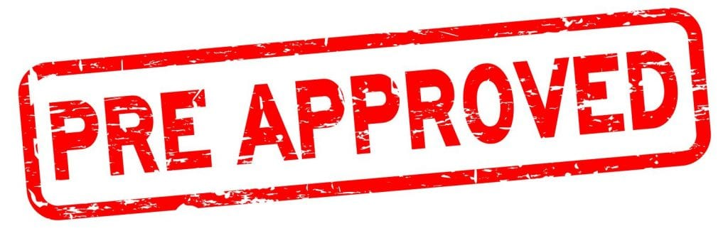 One of the requirements to buy a house for investment is to be pre-approved