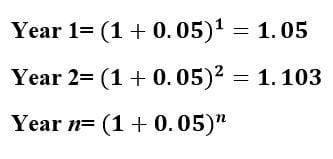 net present value formula example