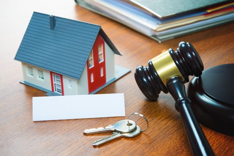 step 4 of the foreclosure process is going through an auction