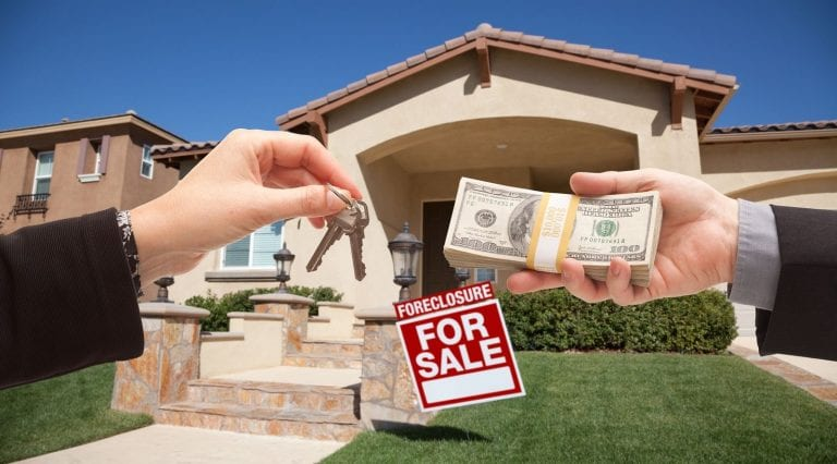 is buying a house at a foreclosure auction smart?