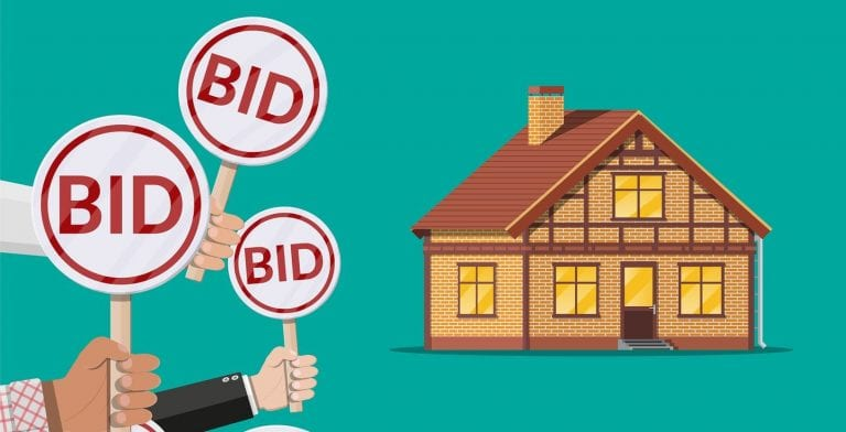 how to win a property auction