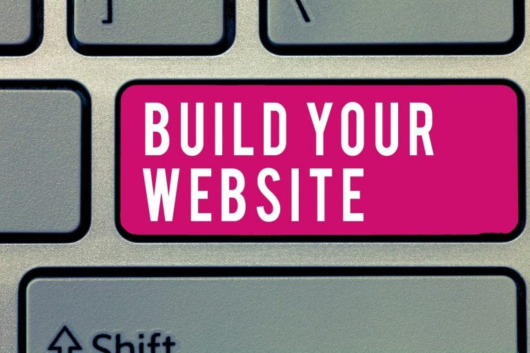build your property management business website