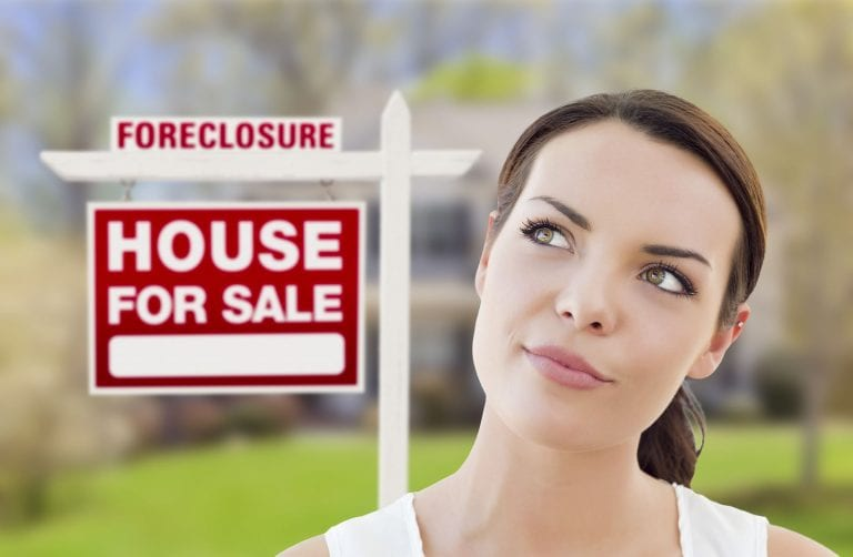is it smart to buy a foreclosed home in 2020?