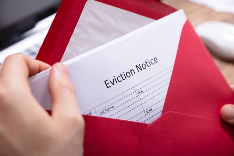 how property managers should handle the eviction process