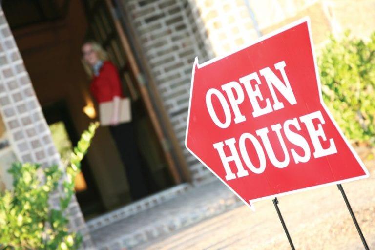 promote real estate brand through open house