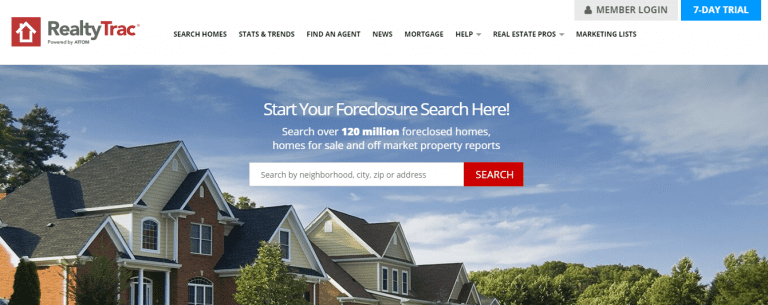 find investment property for sale on RealtyTrac.com