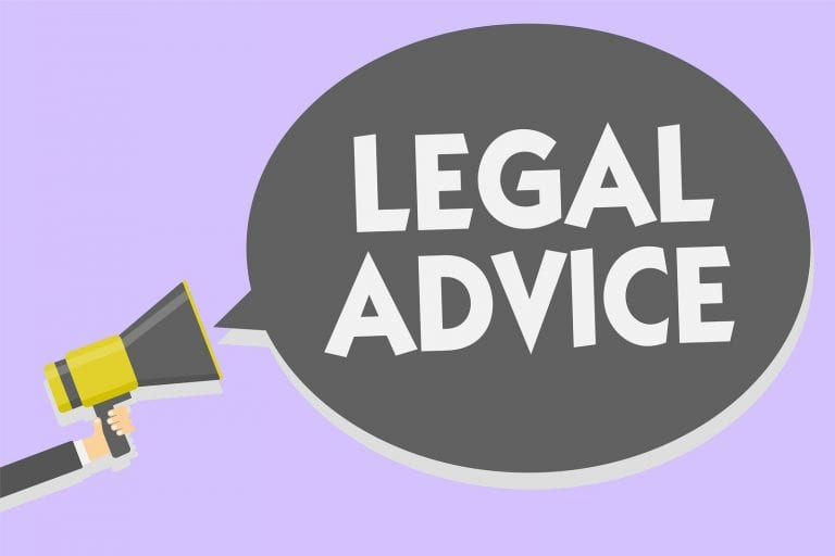 being a property manager - get legal advice