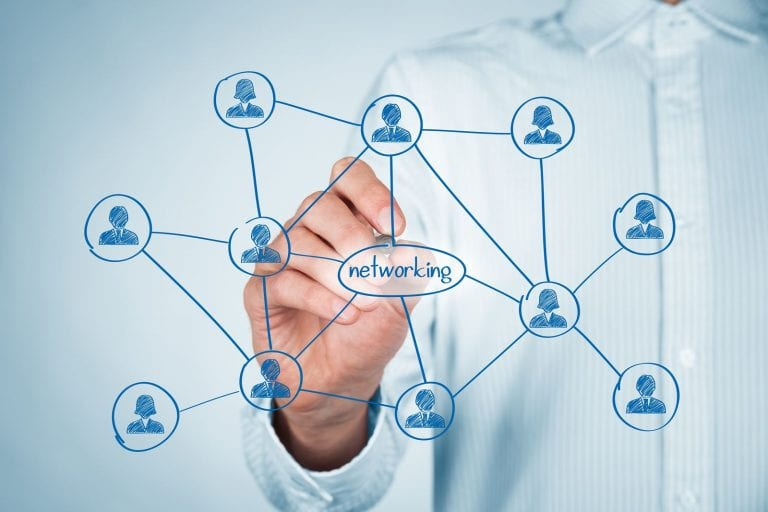 how to get property management leads through networking