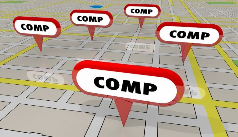 buying rental property - look at real estate comps