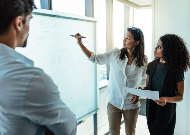 how to structure a property management business plan