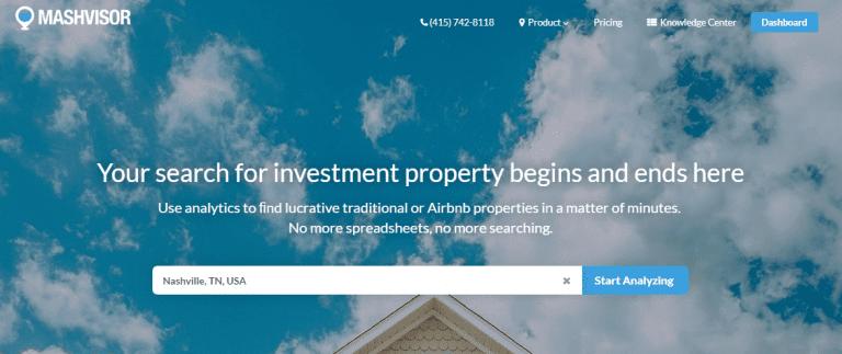 find investment property for sale on Mashvisor.com