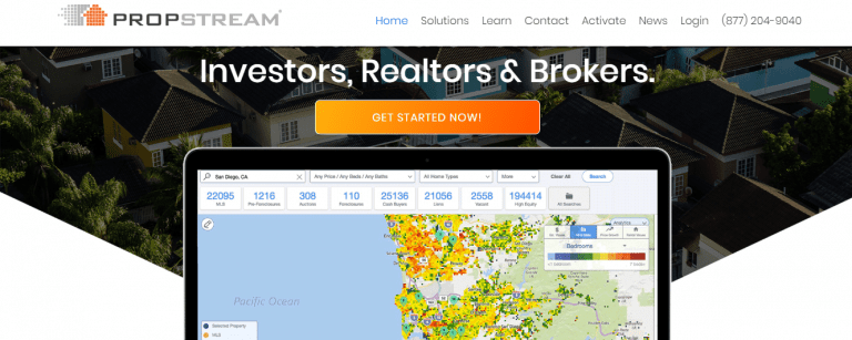 find investment property for sale on PropStream.com