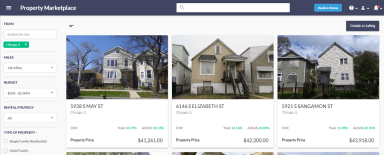 find houses under 100k in the marketplace