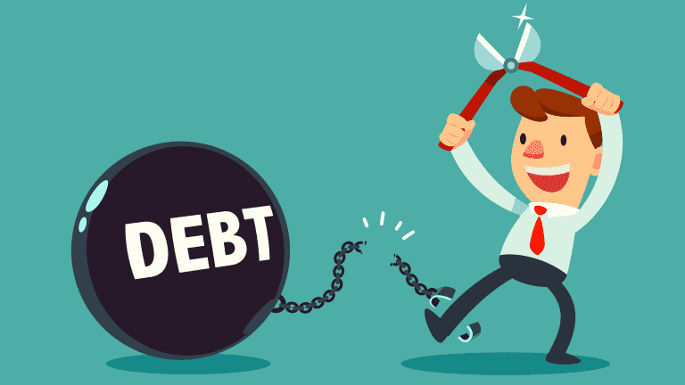 how to save for a down payment - pay off debt