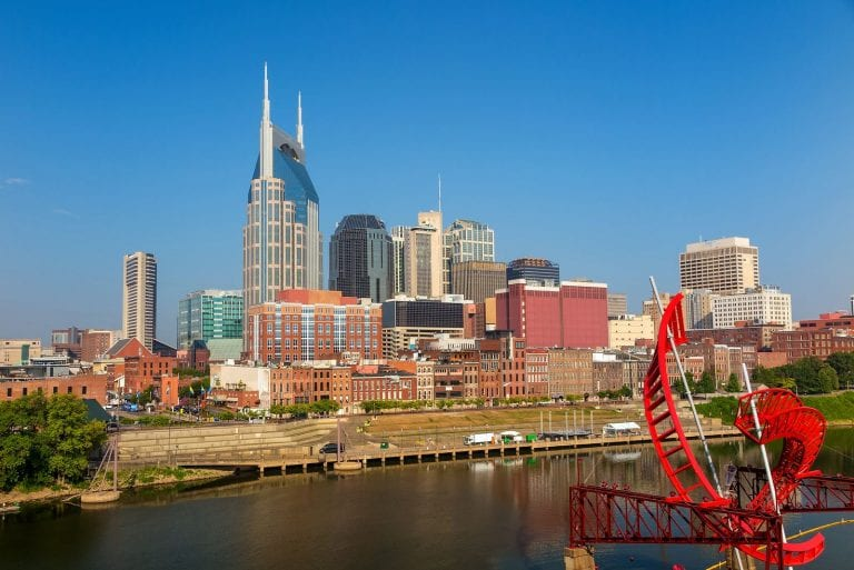 best rental investment markets - Nashville