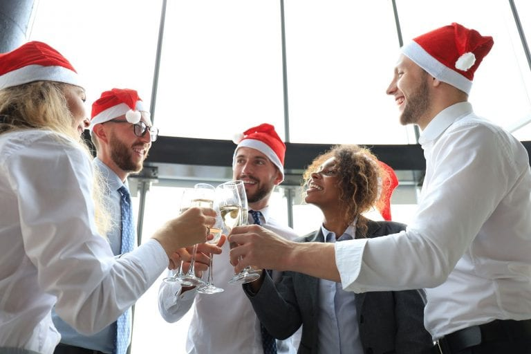 Christmas real estate marketing ideas social activity