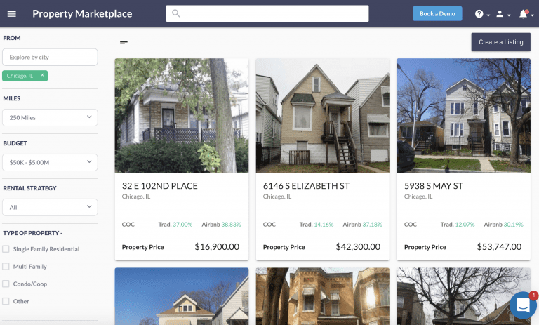 buying distressed properties from the Mashvisor Property Marketplace