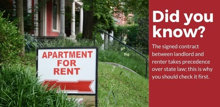 pest control rental property lease