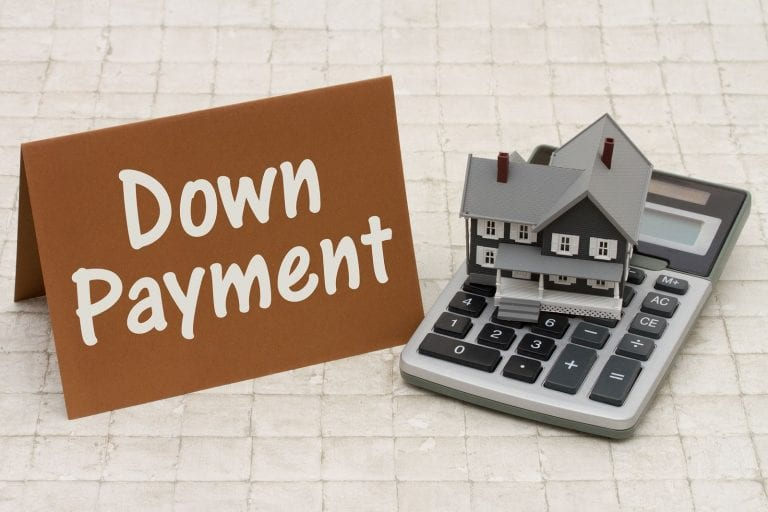 finance rental properties with a down payment