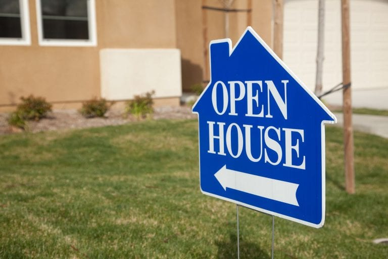 Valentine's Day real estate open house