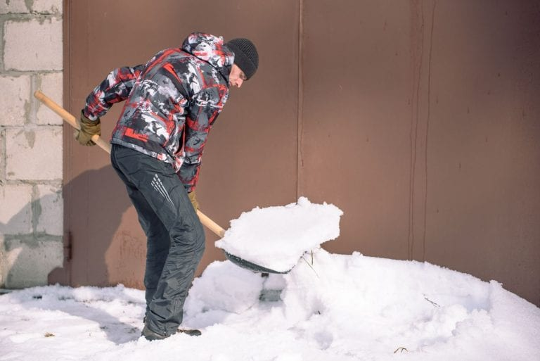 winter property management tips snow clearing