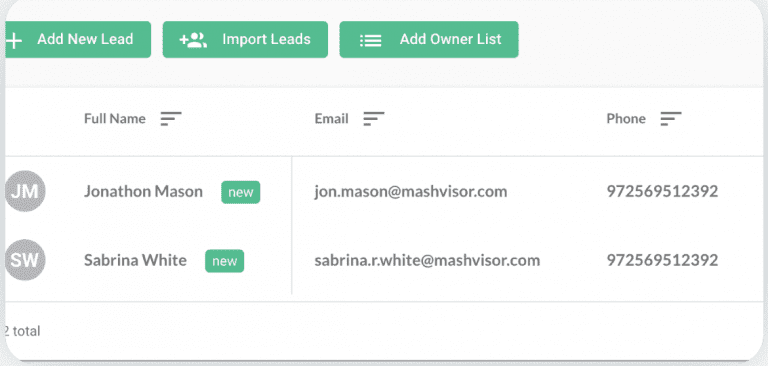 find absentee owners with Mashboard