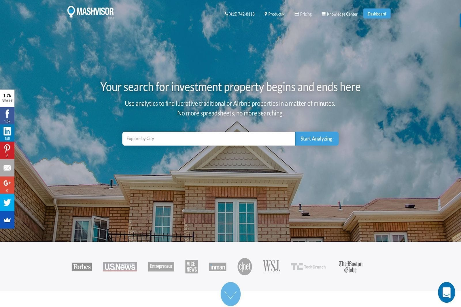 The Best Investment Property Search Engine 2020 Investment Property Tips Mashvisor Real Estate Blog