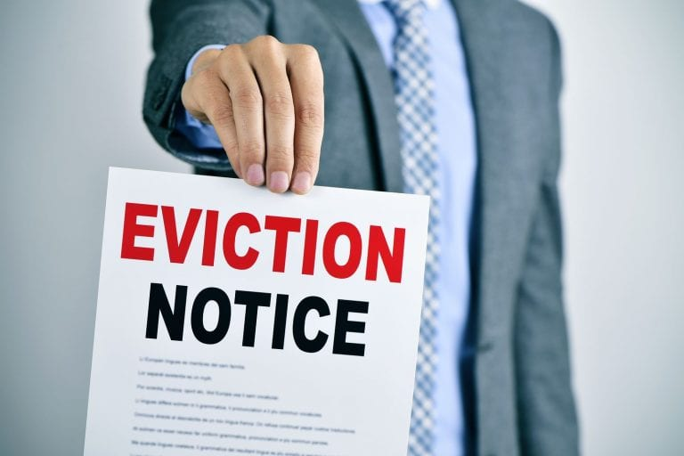 how to evict a tenant notice