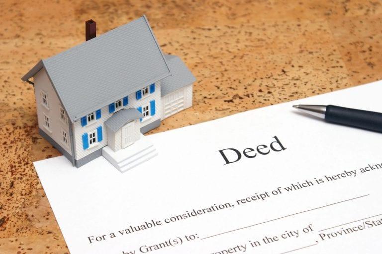 real estate encumbrances deeds