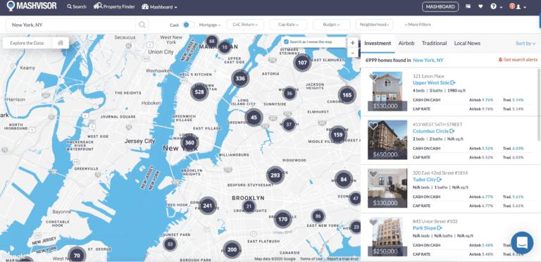 New York neighborhood map