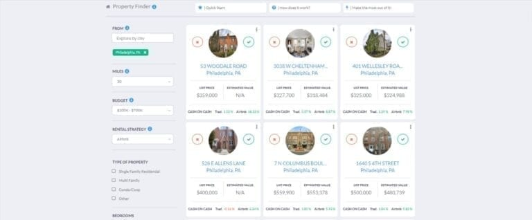 Should You Invest in Airbnb for Sale in 2020 and Where Mashvisor Property Finder in the Philadelphia Real Estate Market