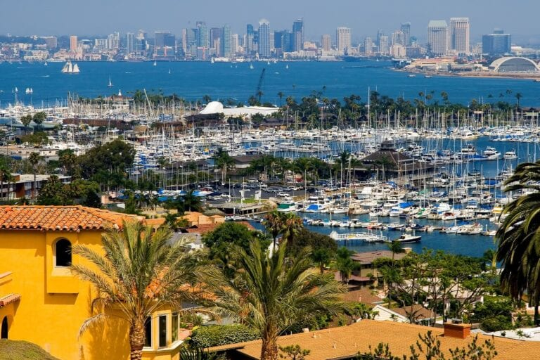 best cities for rental income San Diego