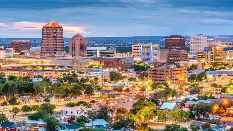 best job markets - New Mexico