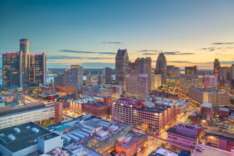 Detroit housing market values