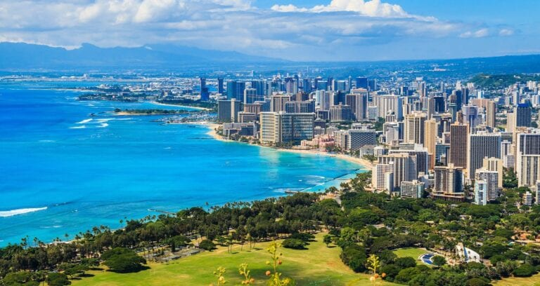 states with no property tax - Hawaii