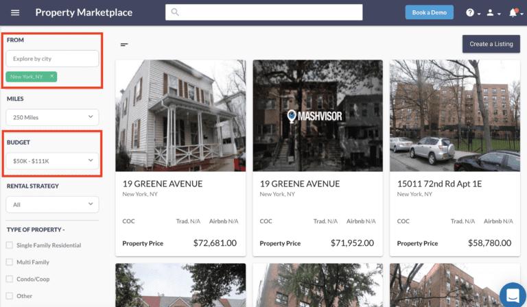 NYC real estate market off market properties