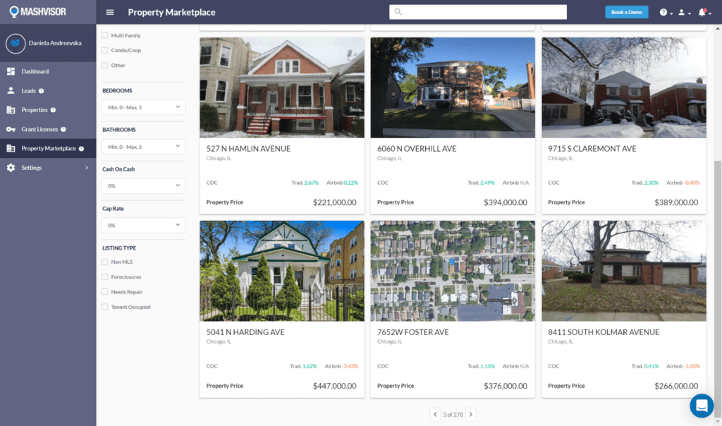 Find Off Market Properties in 2021 - Mashvisor Property Marketplace