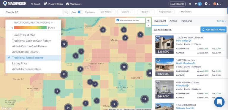 Neighborhood Data Heat Map